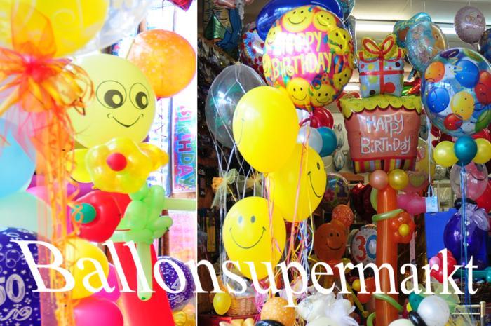 Luftballons zuknoten